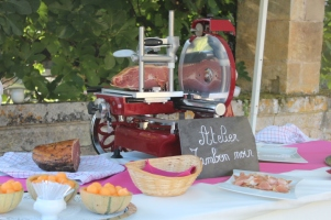 Mariage dordogne Périgord atelier jambon noir