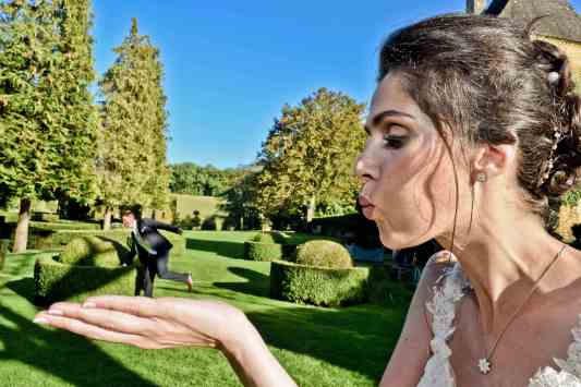 Karine et Khalid, jardins d'Eyrignac
