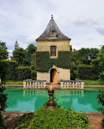 Piscine Eyrignac et ses jardins Dordogne Périgord mariage wedding day castellum traiteur organisateur réception en périgord